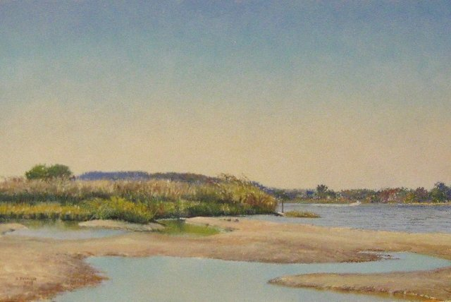 11. On the Eastern Shore, 8x12 oil on panel