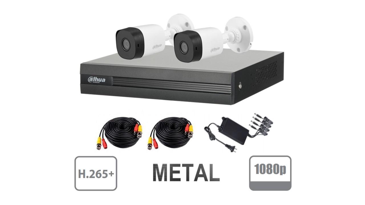 2-DAHUA COOPER XVR2B04KIT 1080 LITE  METAL SKU: SMKIT2C02 $109.12 USD