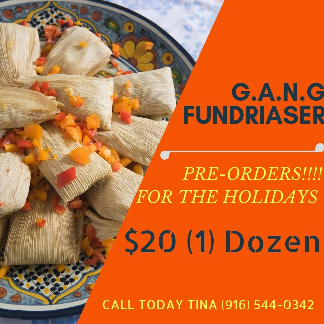 G.A.N.G. Tamales Fundraiser