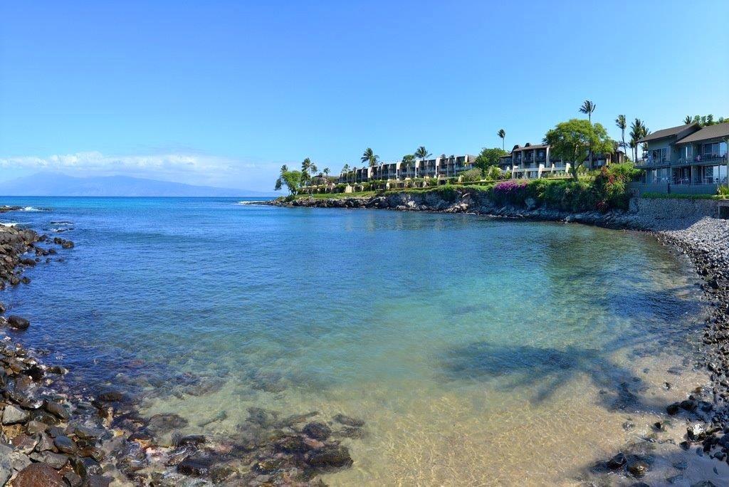 A walk to Honokeana Bay from the condo
