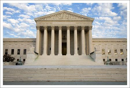 Large court house    
