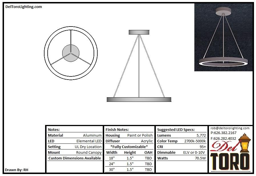 012P-UpDown Ring Pendant