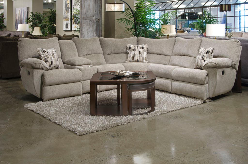2250 Elliott Pewter Reclining Sectional