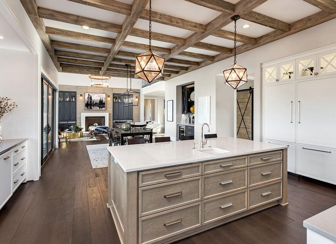 Beautiful Open Concept Kitchen,