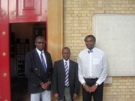 Lindsay Benjamin,Franklyn Wellington & Kenneth Benjamin