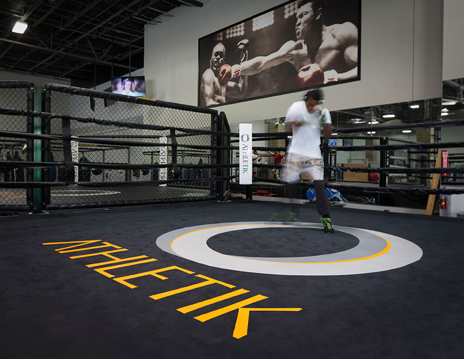 O Athletik Boxing Ring