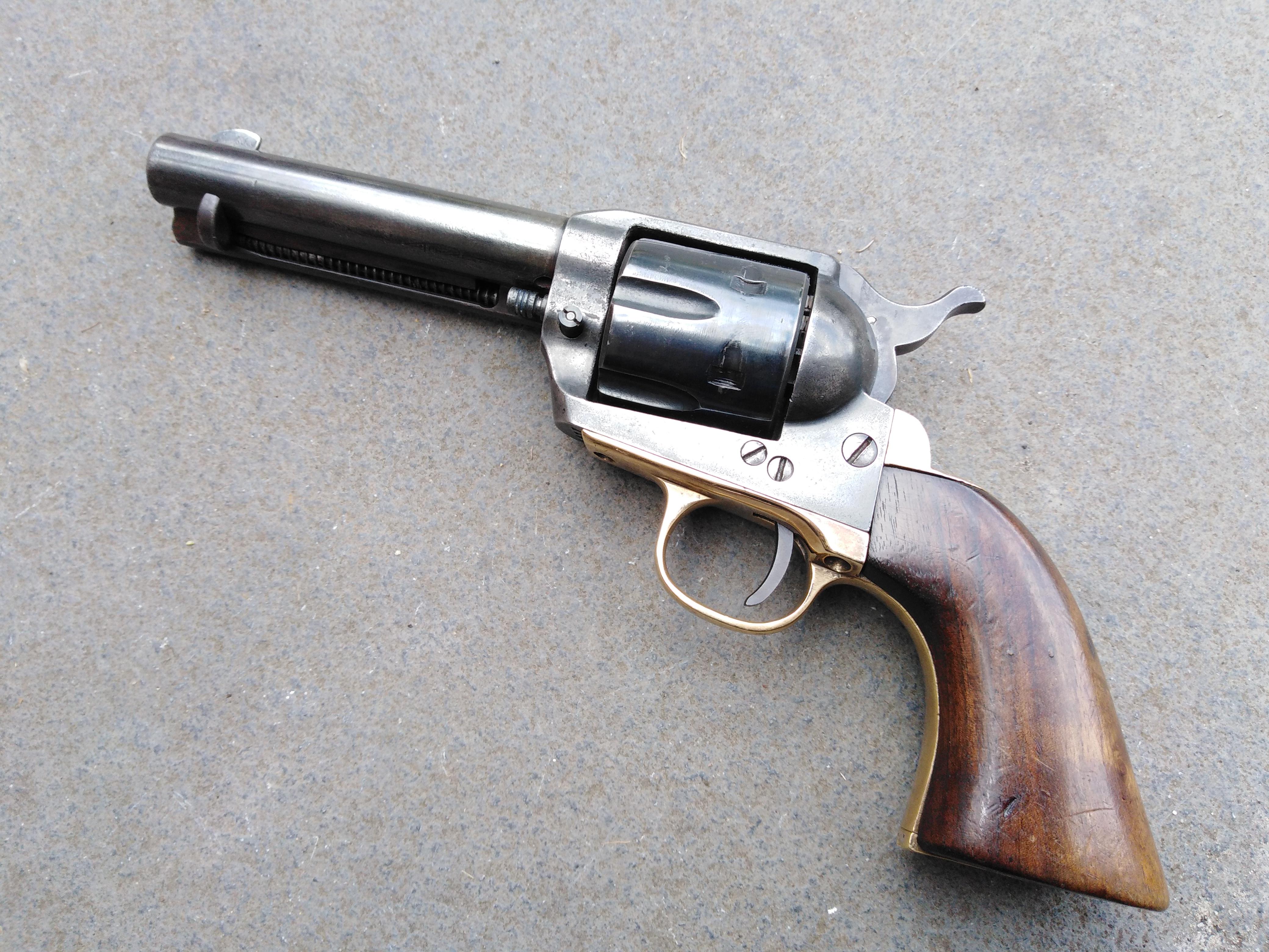 SOLD Adler SAA Colt 1873 9mm
