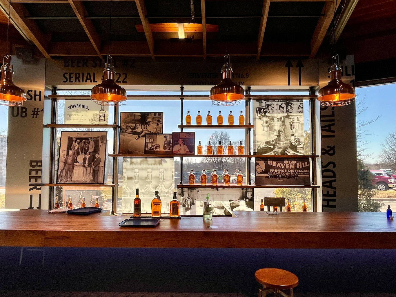 The Founders Room Bar - Heaven Hill Distillery Bourbon Heritage Center