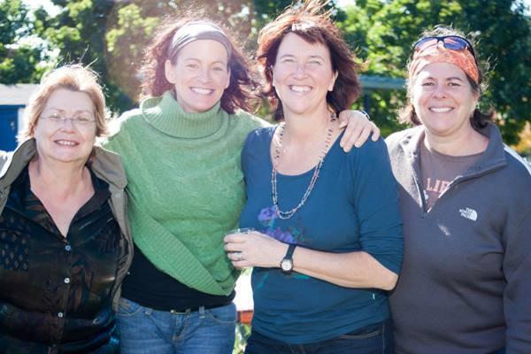 Danielle, Nathalie, Manon et Lyne