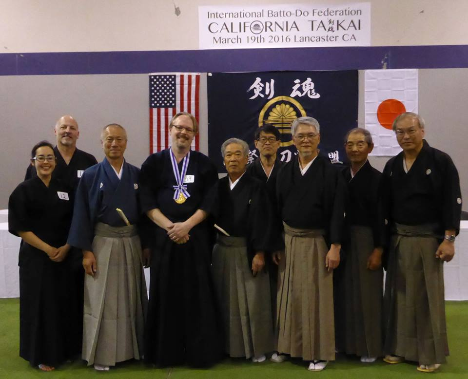 Kenshinkan Dojo (Vivian, John H., Tex) with the Japanese teachers.