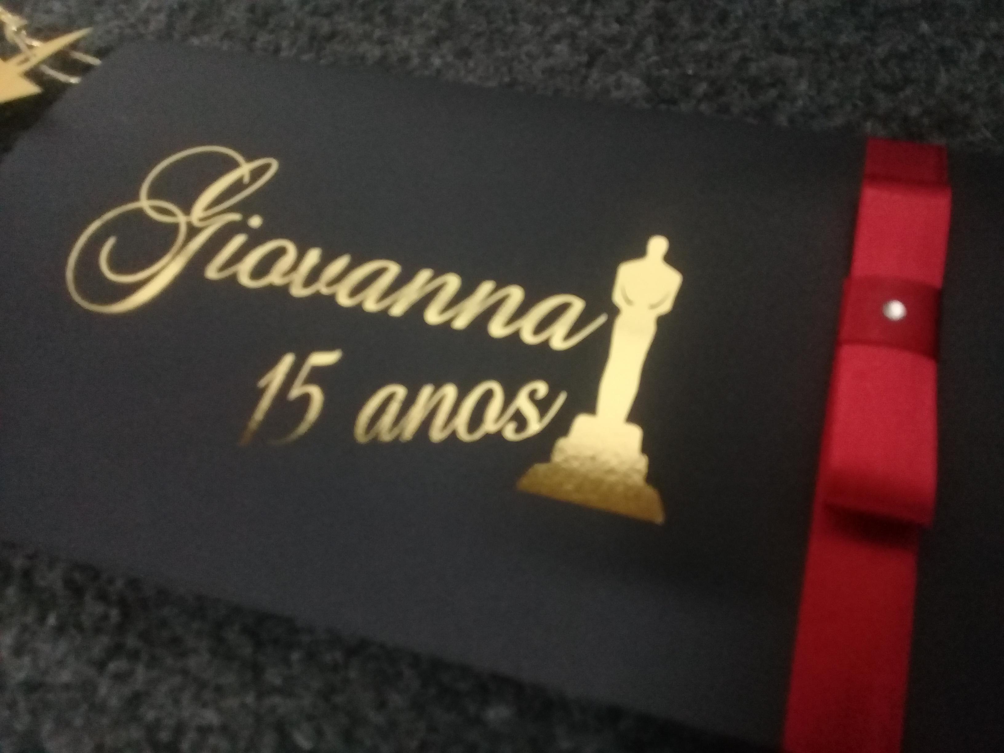 Tema Oscar foil - R$ 7,90
