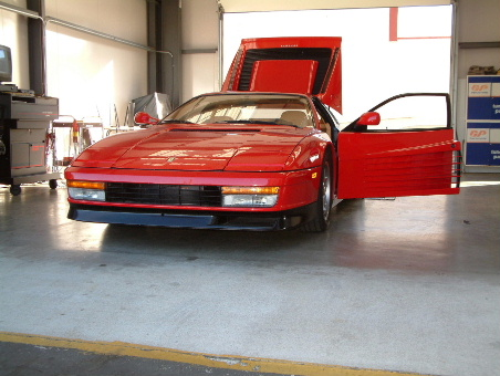 Red Ferrari for Repair 2