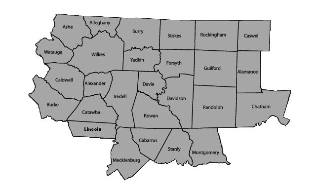 North Carolina Counties