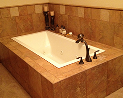 Tiled Bathtub