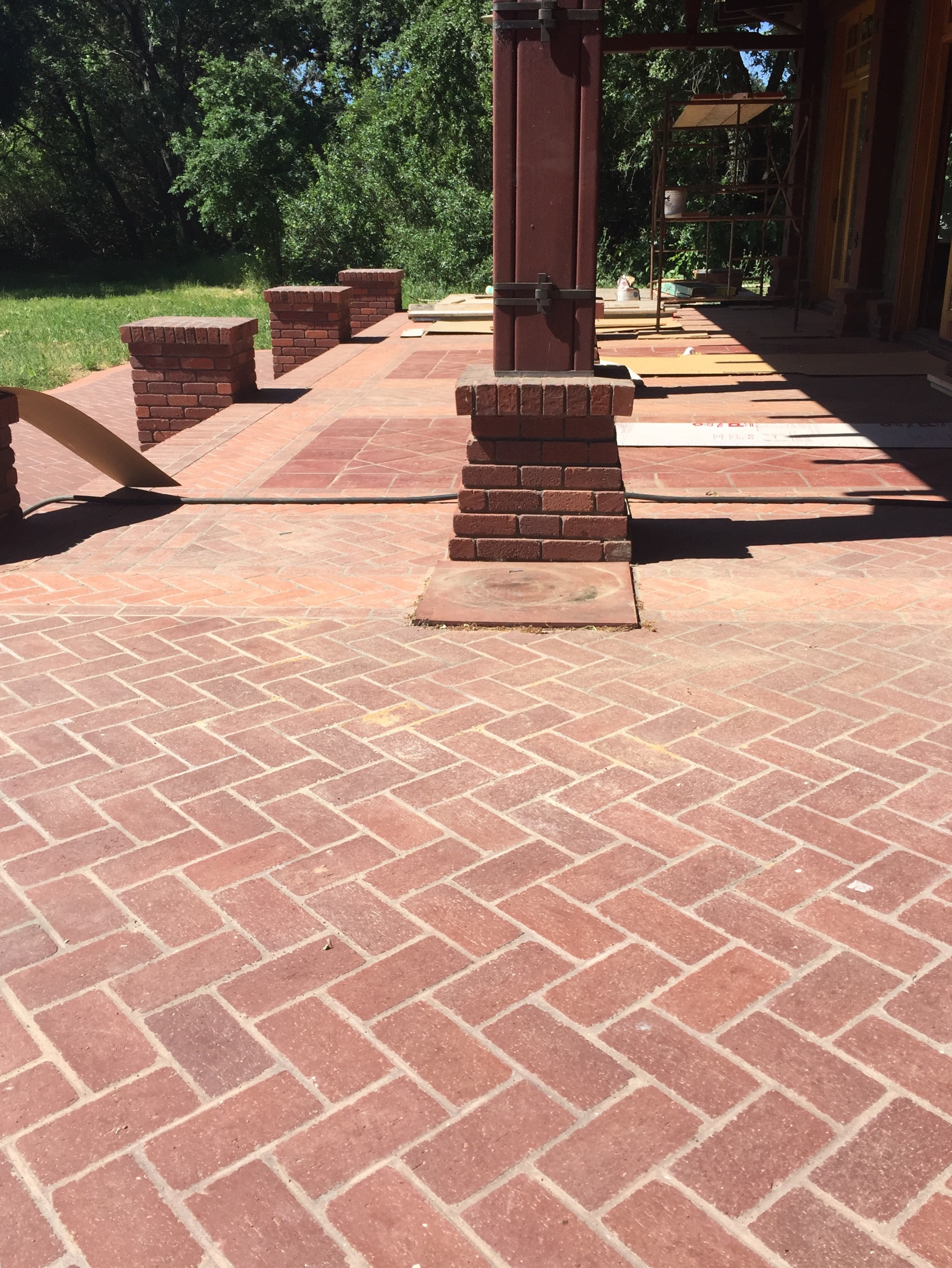Brick patio Fairfield, CA