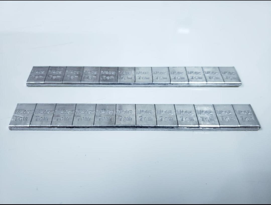 Contrapeso adhesivo de 1/4 oz Pb en 19 mm