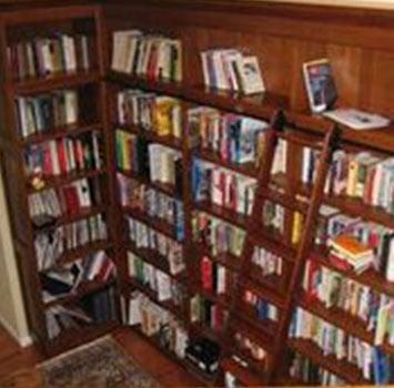 Wooden Bookshelf 2