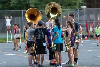 Marching Band Rehearsal 08-23-18