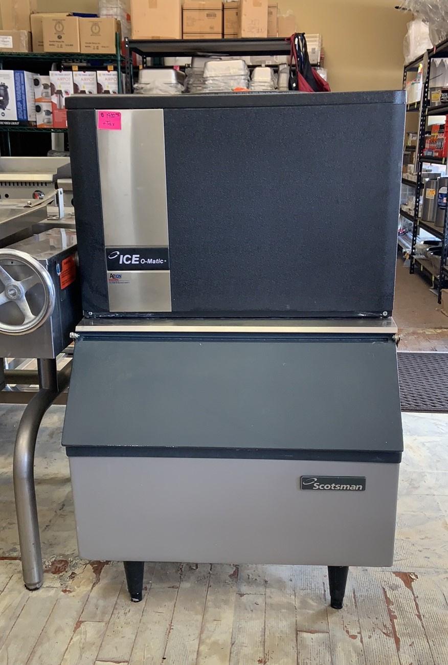 Used Ice O Matic  Ice Machine with Bin  250 LB Per 24 h $ 1800.00