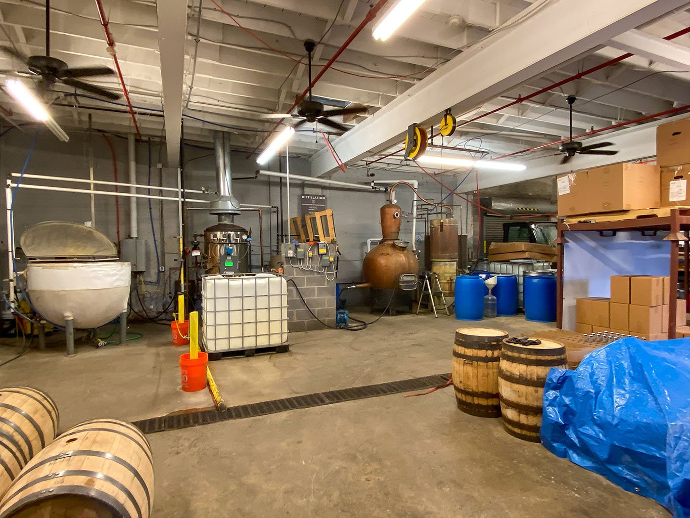 Distillery Overview -Bluegrass Distillers