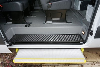 Mercedes-Benz Sprinter Foot Step