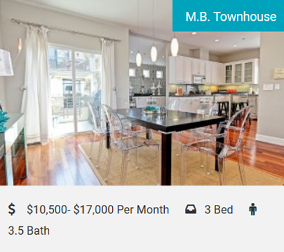 M.B. Townhouse Beach Life With Style! Decorators' Dream! Stunning Sunsets and Ocean Views! 3 bedrooms, 3.5 bathrooms, sleeps 7 for those who enjoy living life to the fullest. Located in the highly desired South Manhattan Beach…