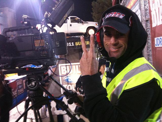 Videographer on the Set
