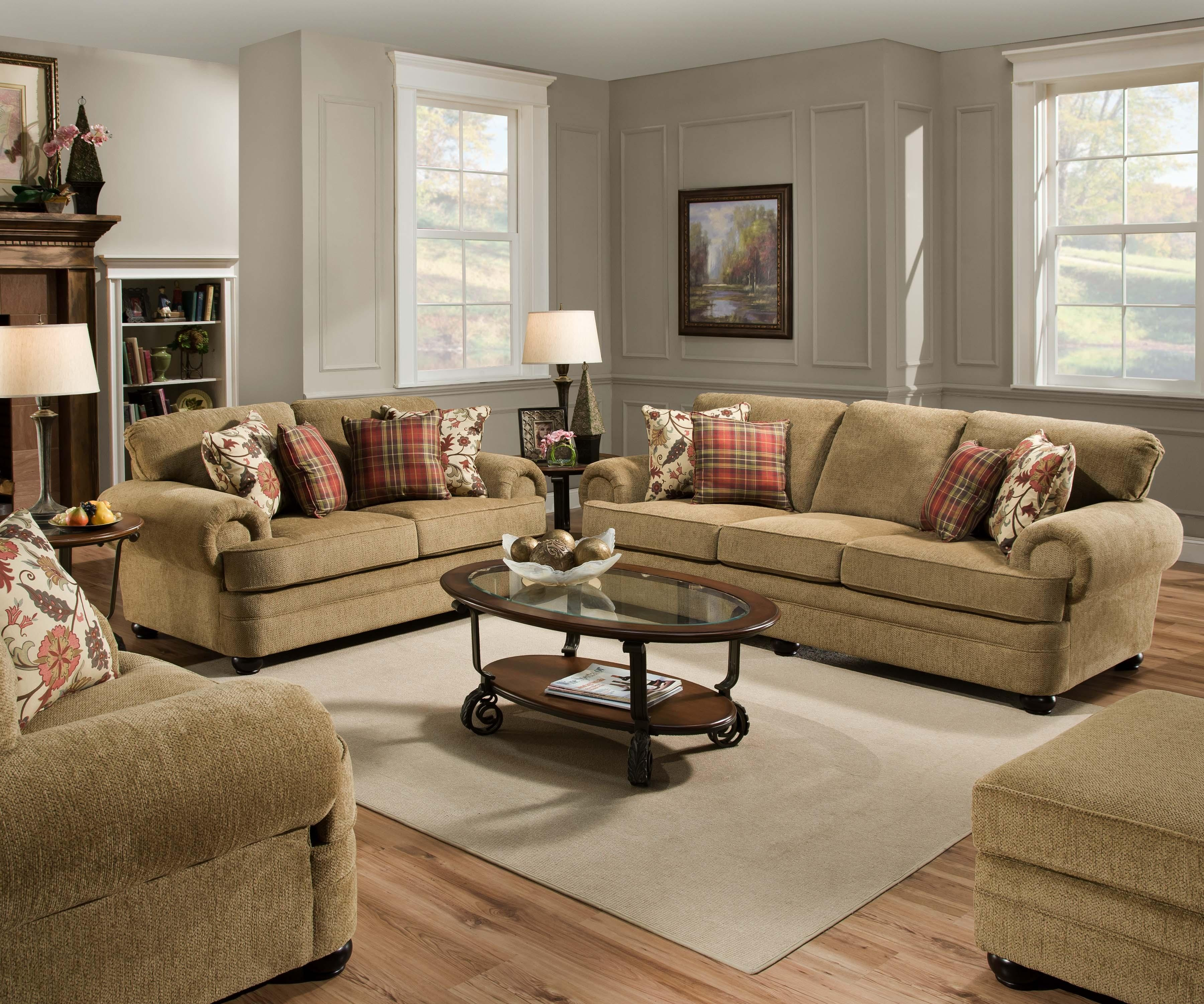 Furniture clearance center upholstered - Cojines para sofas de piel ...