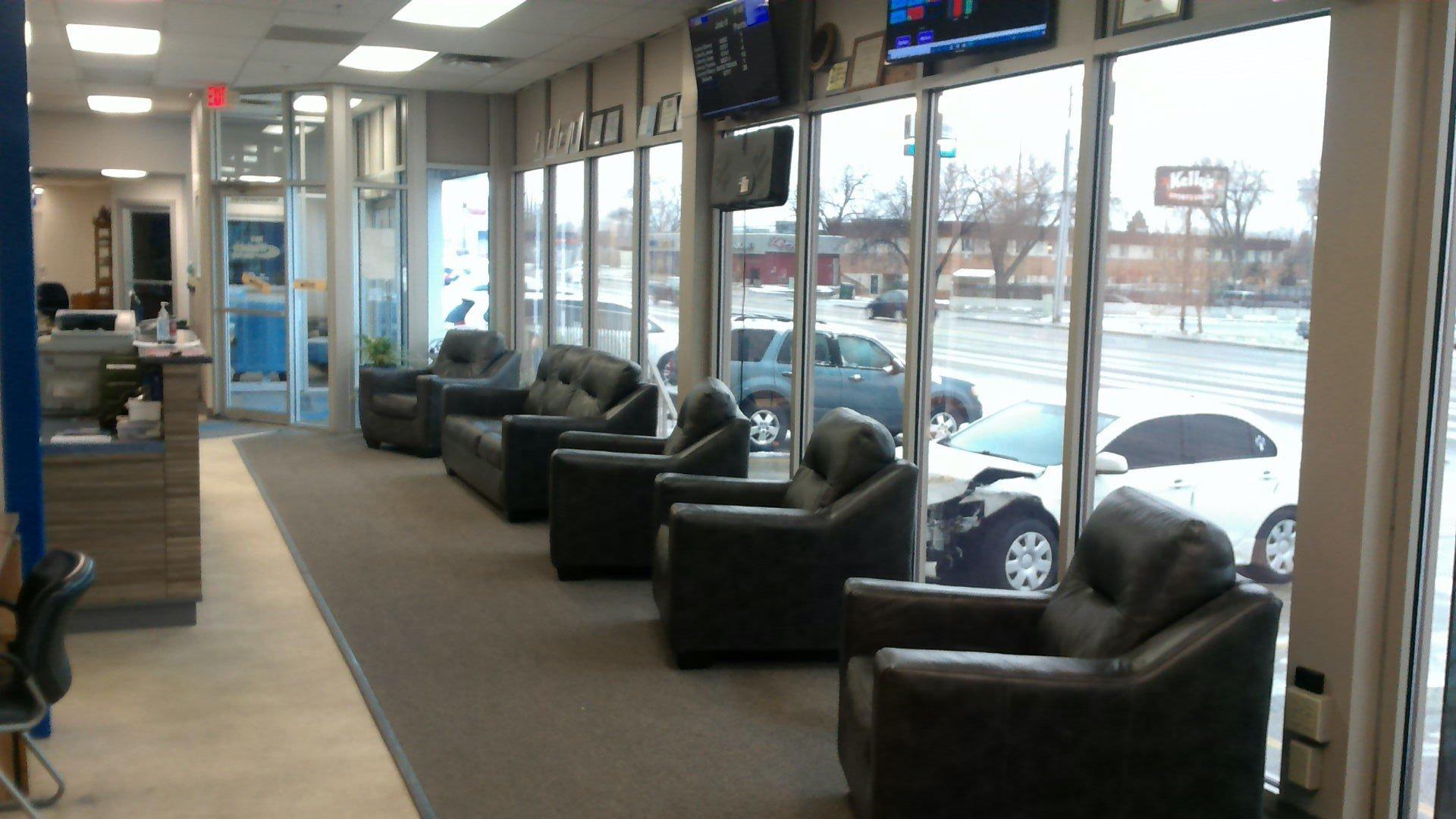 Auto Shop Lobby 1