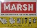 Marsh Stencil