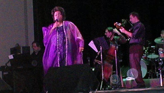 Leticia Walker Performing