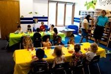 kids in classroom
