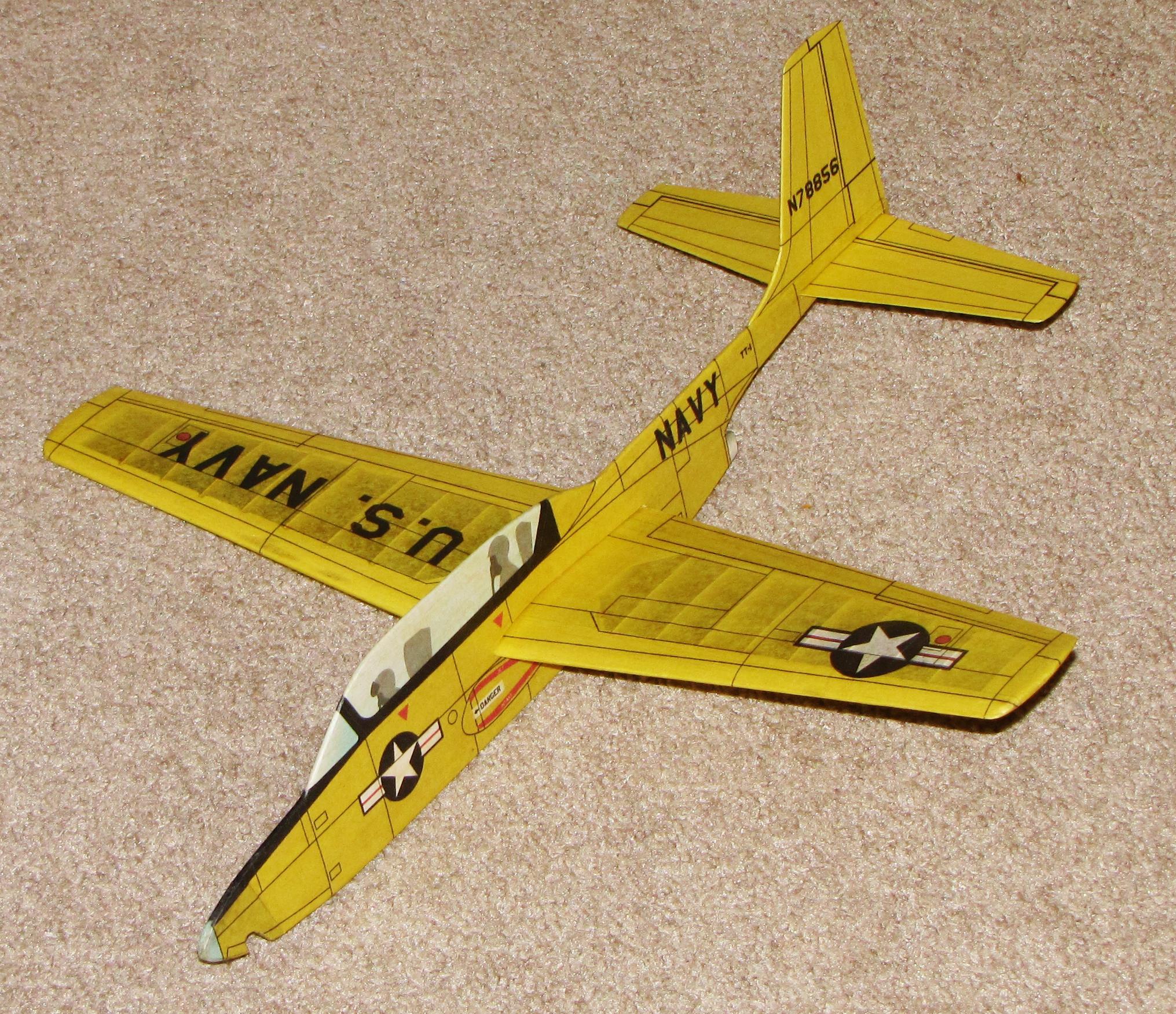 Temco TT-1 Jet Cat model