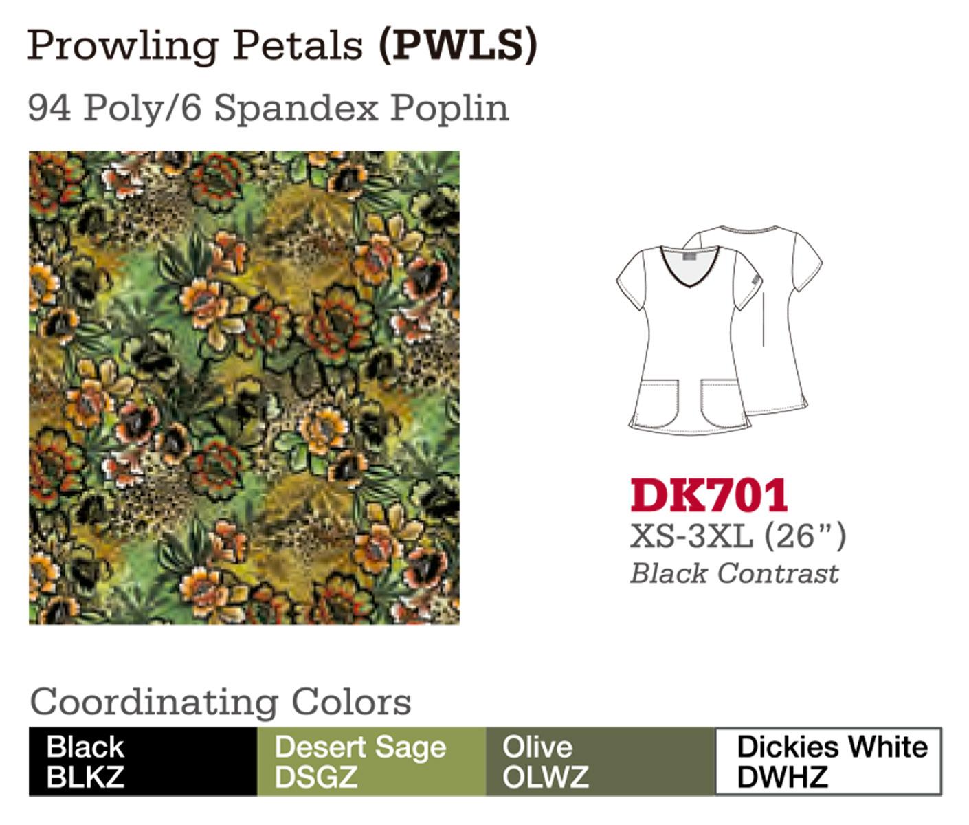 Prowling Petals. DK701.