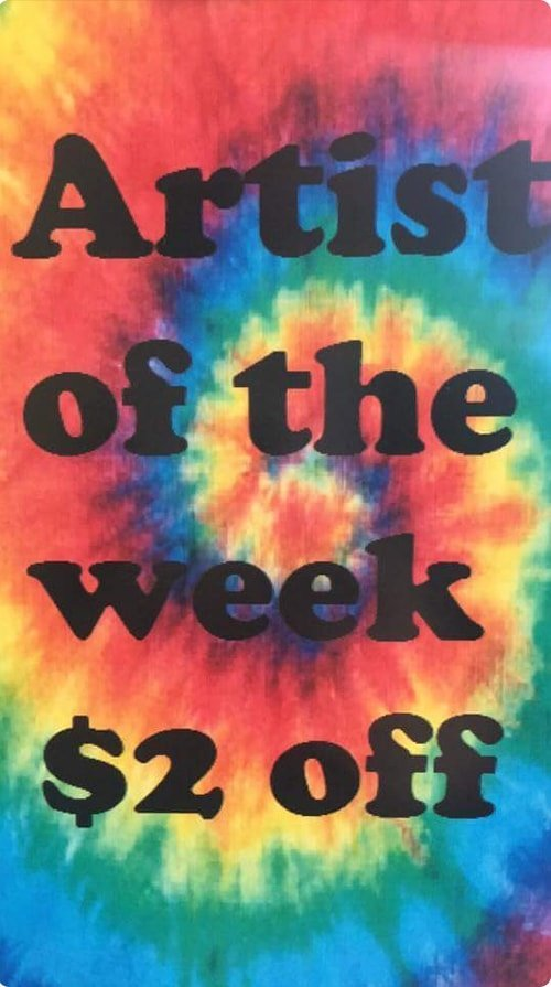 Artist of the Week Poster