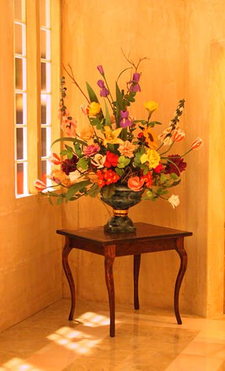 Flower arrangement by Marie's Mini Shoppe