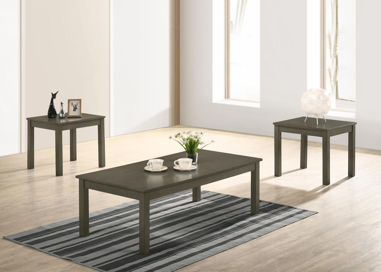 Pierce Grey Coffee Table Set 4117-GY