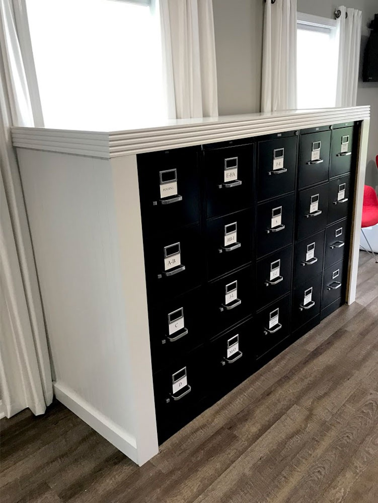New File Cabinet Casing