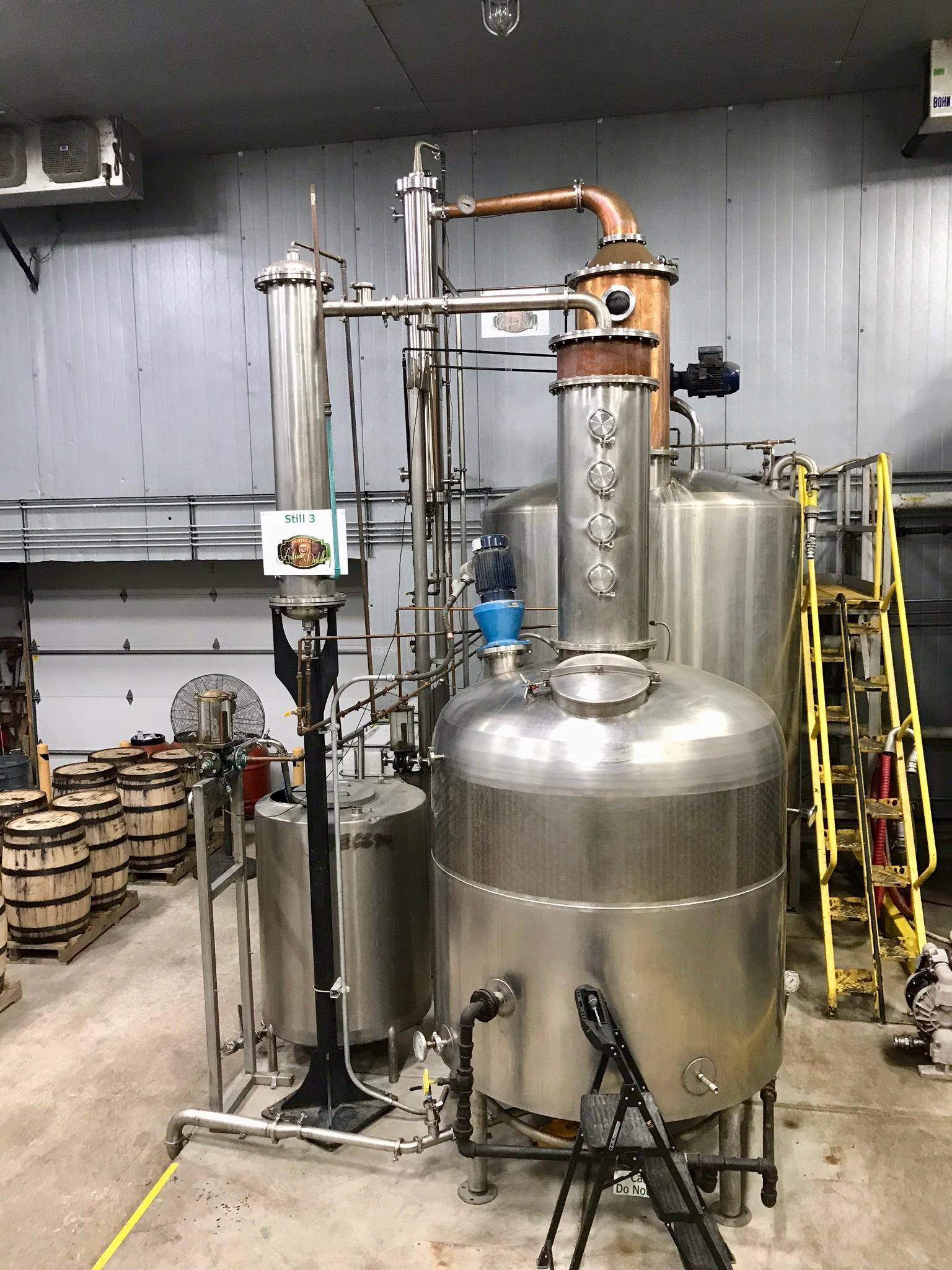 Stripping Still - Kentucky Artisan Distillery