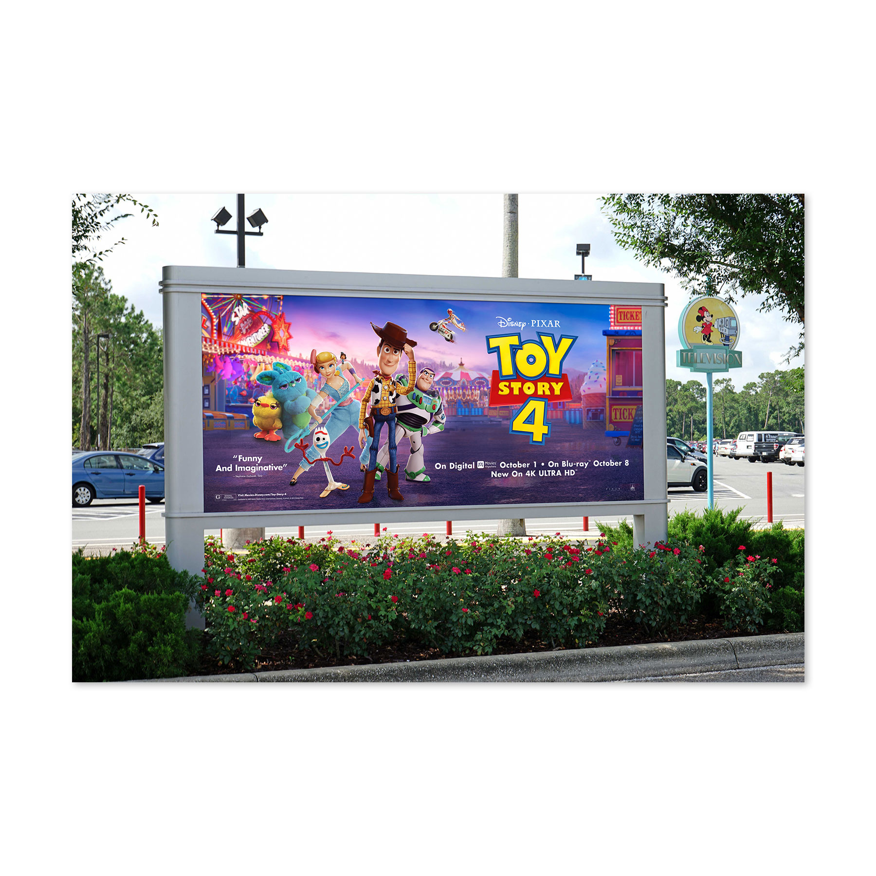 Toy Story 4 Billboard