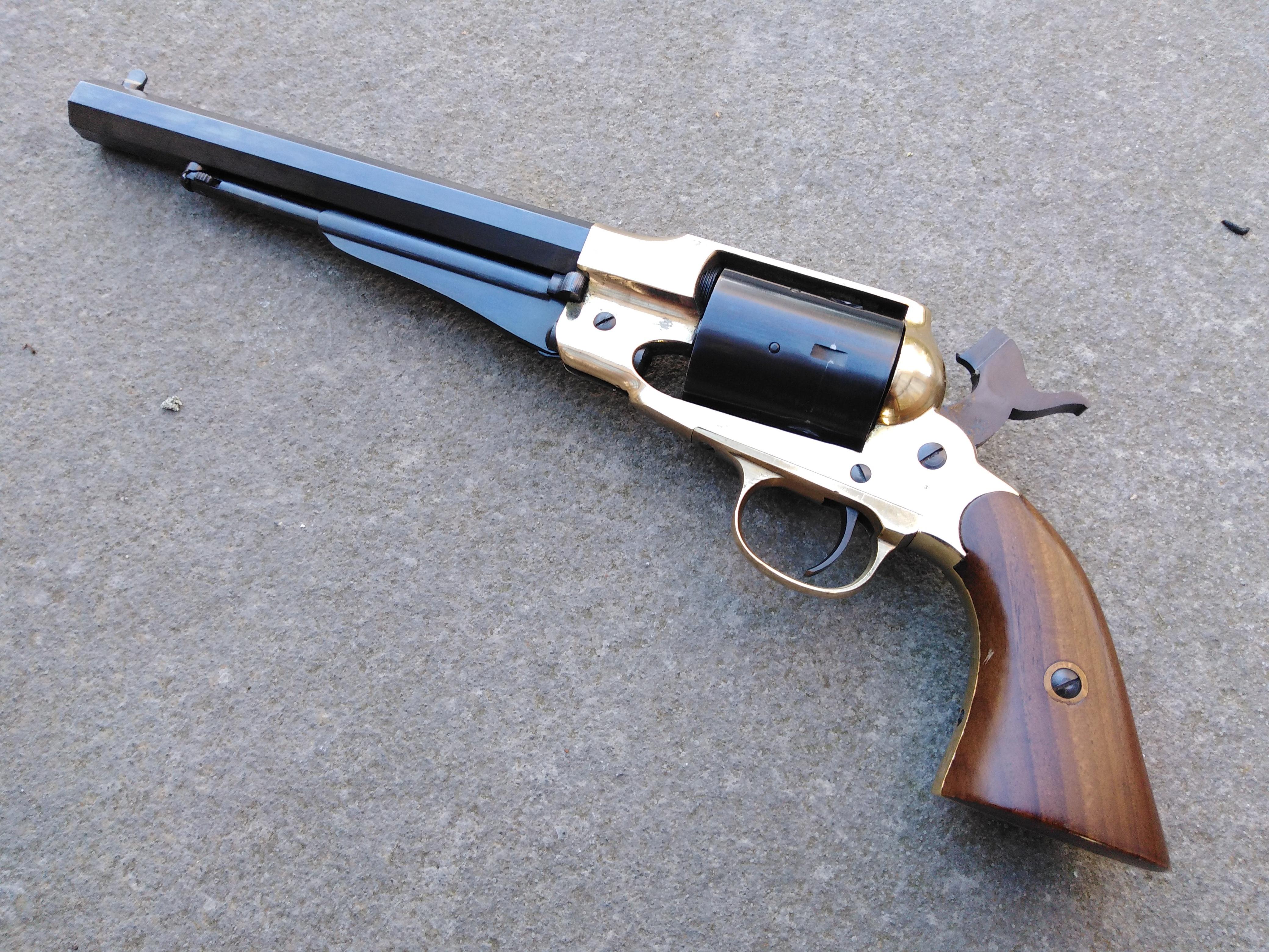 Pietta Remington Brass frame