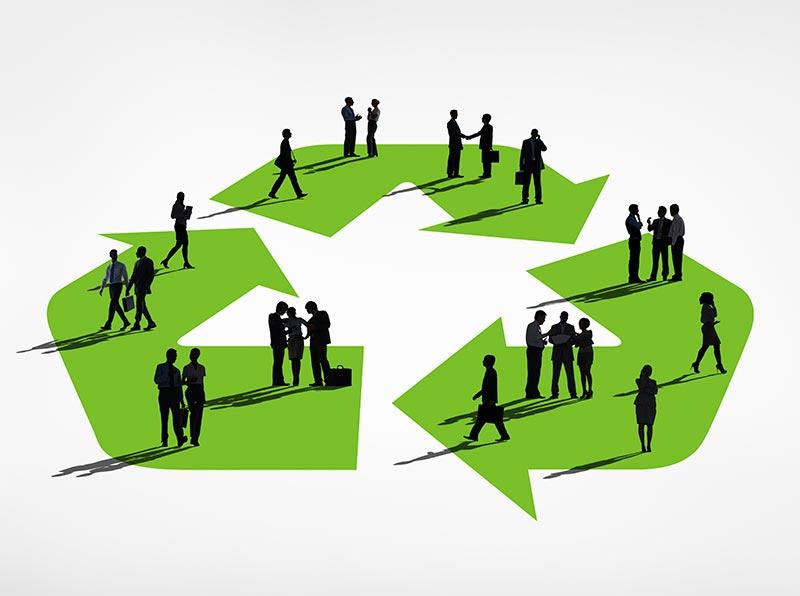 Innovative recycling programs
