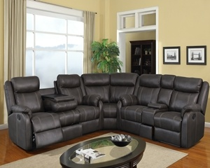 7303 Charcoal Includes: Sofa, Love and Wedge