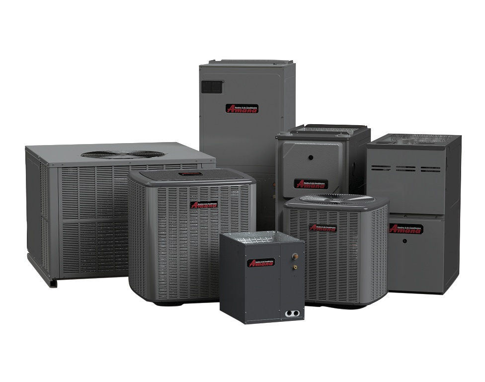 Amana brand heating and cooling equipment