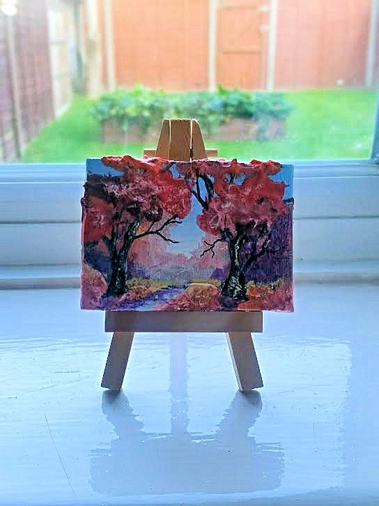 Mini art in England