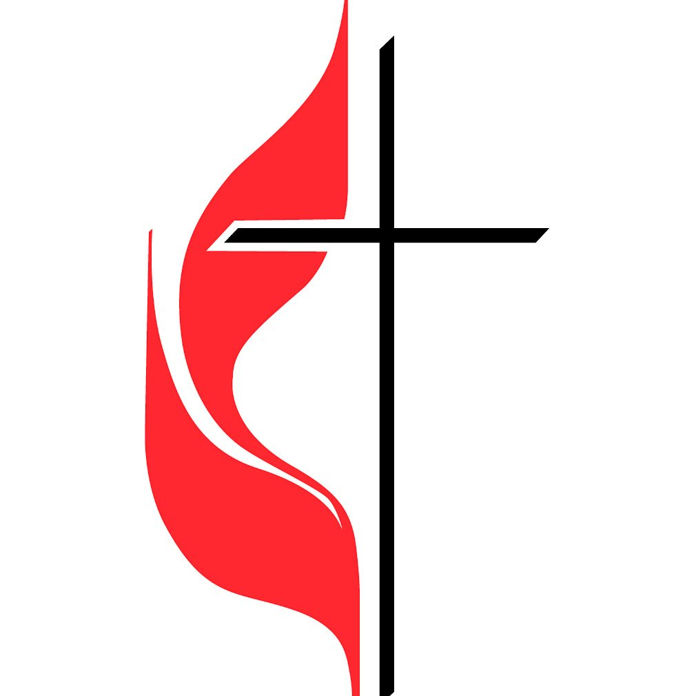 Cross and flame
