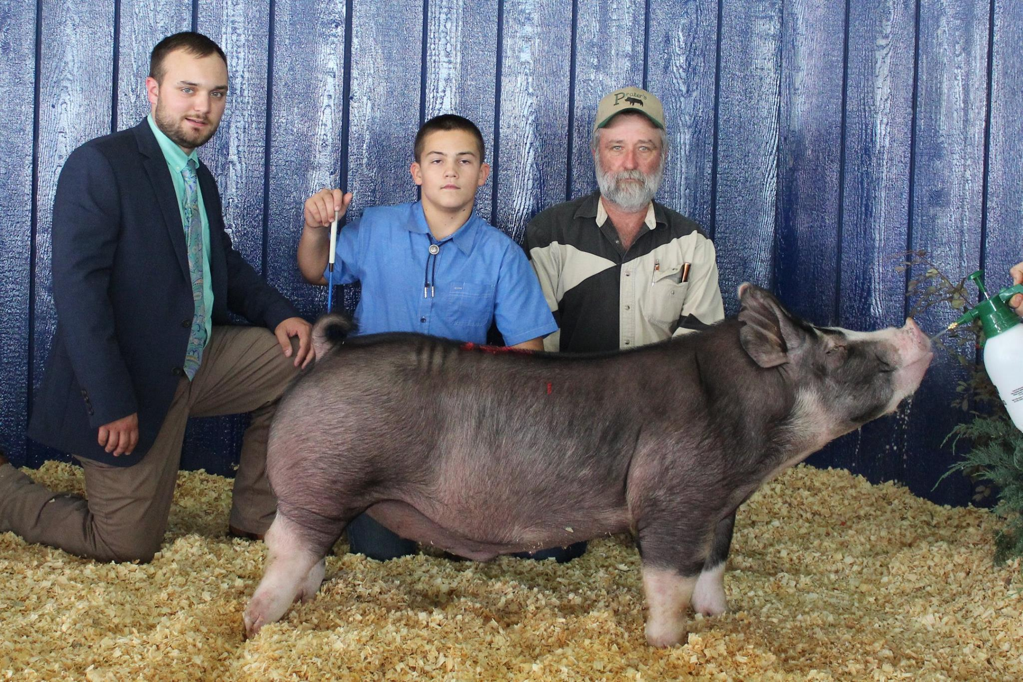 Kalan Lusk 2017 Tennessee State Fair Champion Berkshire Barrow