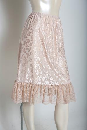 America Style  Skirt Length Extender Slip