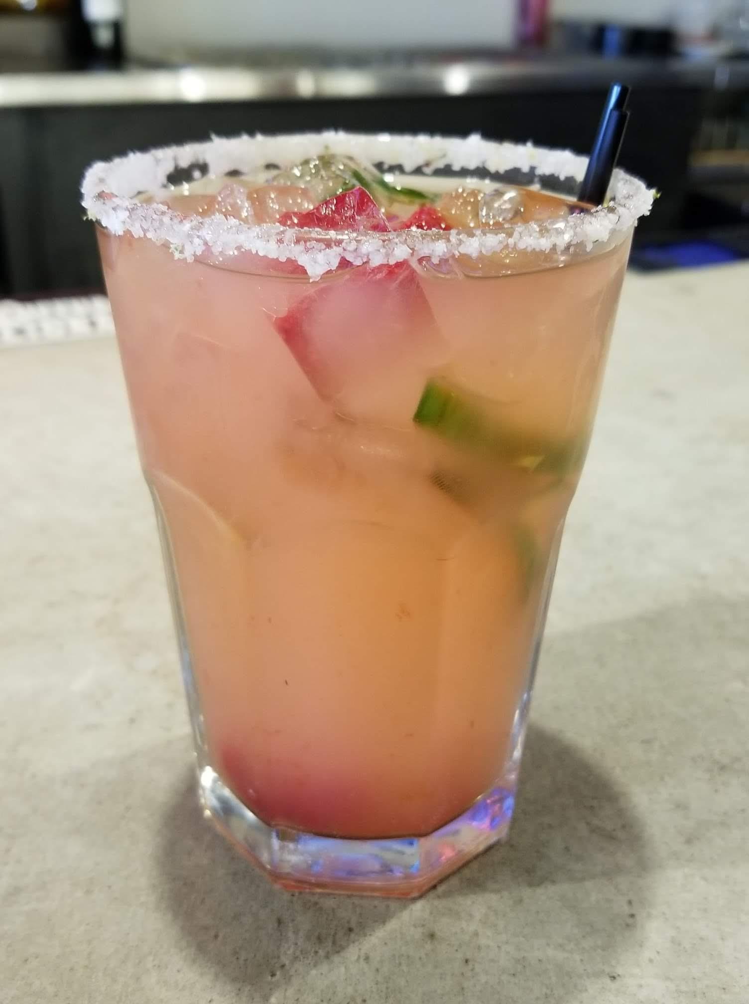 Sweet 'n Spicy Margarita