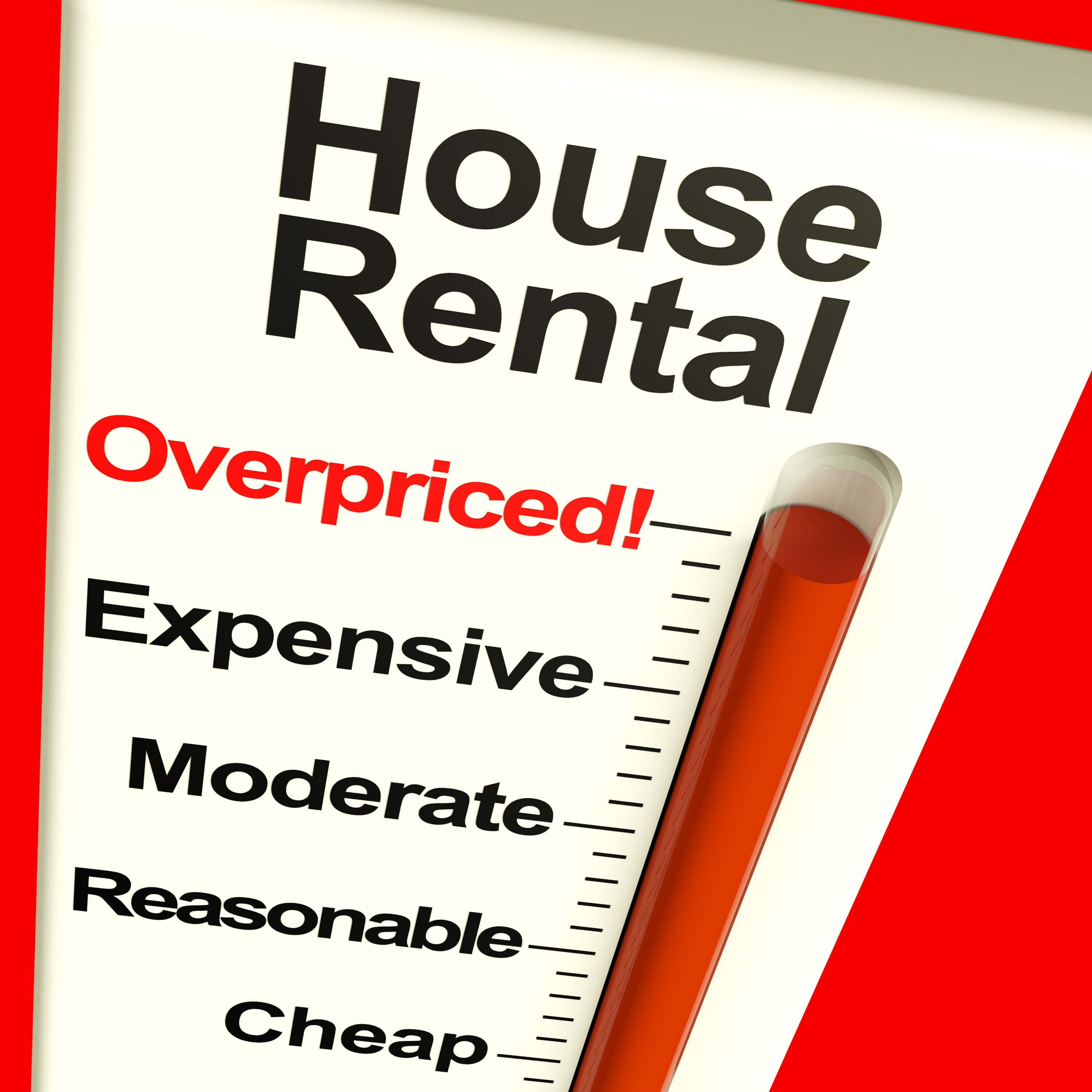House rental thermometer||||